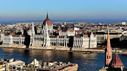 Academic conferences in Prague and Budapest and Vienna and Dresden